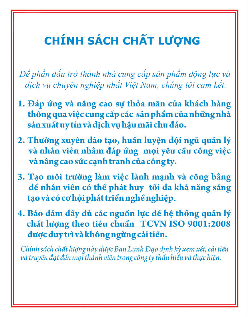 chinh sach chat luong AKBC